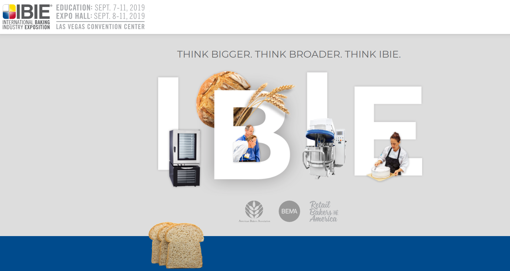 IBIE | International Baking Industry Exposition - American